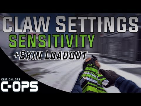 Critical Ops - My Settings, Controls and Skin Loadout