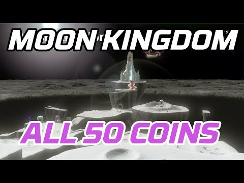 [Super Mario Odyssey] All Moon Kingdom Coins (50 Purple Local Coins)