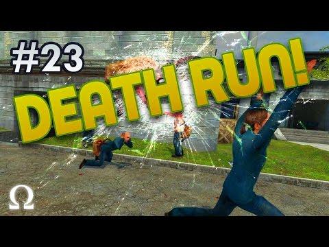 DEATH STREAK, FALLING FROM HEAVEN! | Deathrun (Garry's Mod) #23
