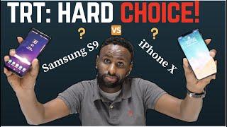 Tech Review Thursday: Samsung S9 vs iPhone X.