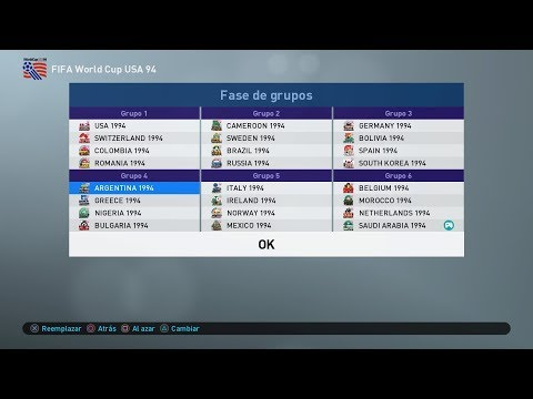 FIFA World Cup USA 94 en PES 2019!