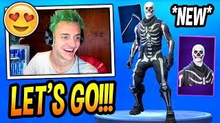 NINJA *CONFIRMS* THE SKULL TROOPER SKIN IS COMING BACK! (HALLOWEEN SPECIAL!) Fortnite FUNNY Moments