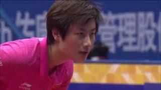 【中国OP2016】女子シングルス決勝 丁寧(中国)vs劉詩雯(中国)