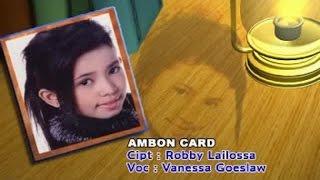 Vanessa Goeslaw - AMBON CARD