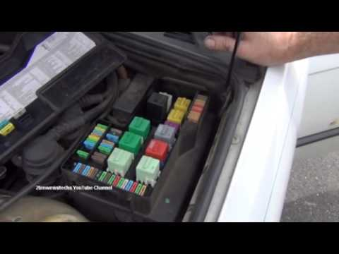 BMW 3 Series E36 Cigarette Lighter Fuse Location And