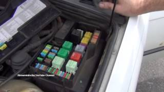 BMW 3 Series E36 Cigarette Lighter Fuse Location And Troubleshooting
