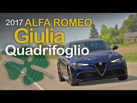 2017 Alfa Romeo Giulia Quadrifoglio Review: Curbed with Craig Cole