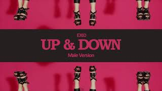 [MALE VERSION] EXID - Up & Down