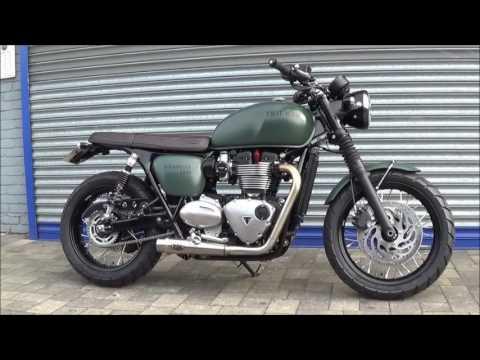 Jack Lilley Triumph Bonneville T120 Scrambler Custom Youtube