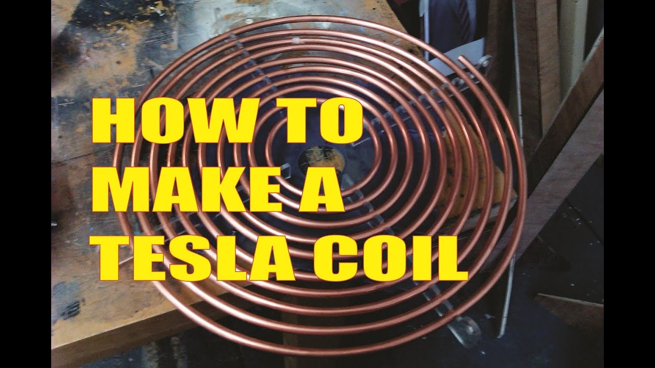 How To Make A Tesla Coil Ground Free Lightning Aether