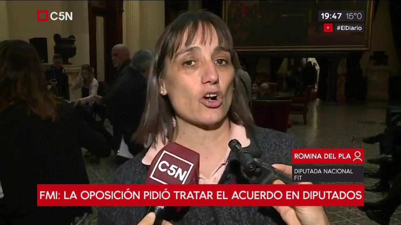 FMI: La oposición pidió tratar el acuerdo en Diputados