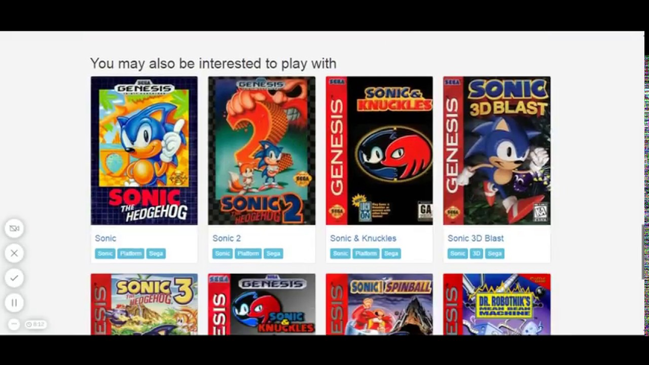 Sonic 3 on emulator online