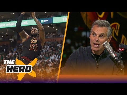 Colin Cowherd on the newlook Cavaliers after their 12199 win over the Celtics  THE HERD