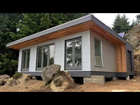 Building Off-Grid: Desolation Sound Modular Cabin