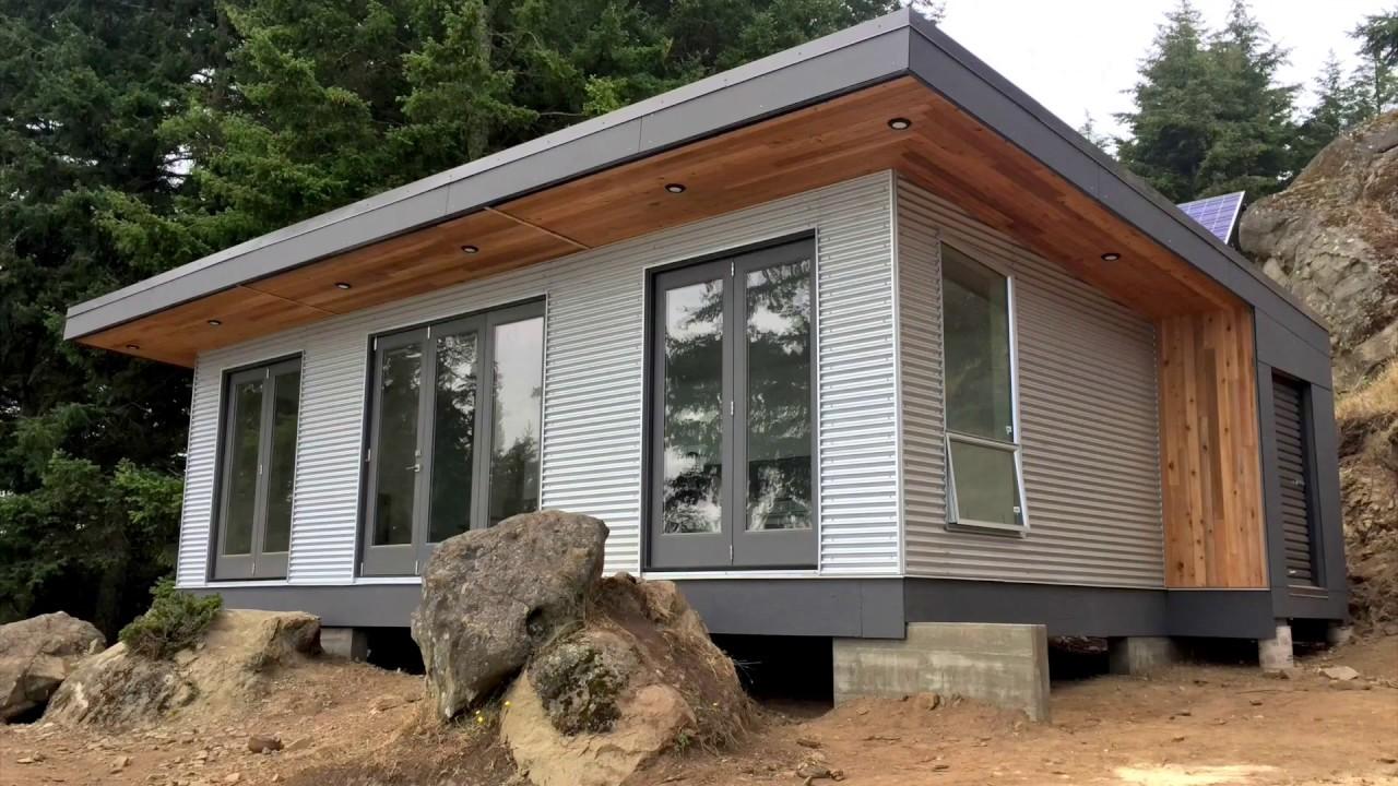 Building Off Grid Desolation Sound Modular Cabin