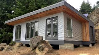 Building Off-Grid: Desolation Sound Modular Cabin