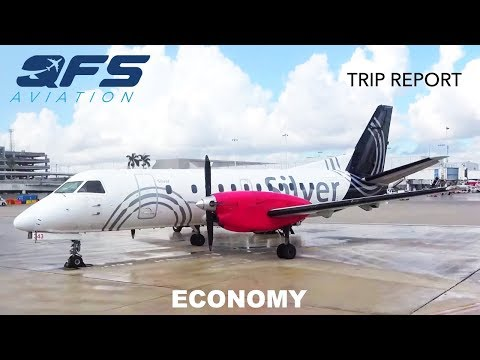 TRIP REPORT | Silver Airways - Saab 340B+ - Ft. Lauderdale (FLL) to Key West (EYW) | Economy