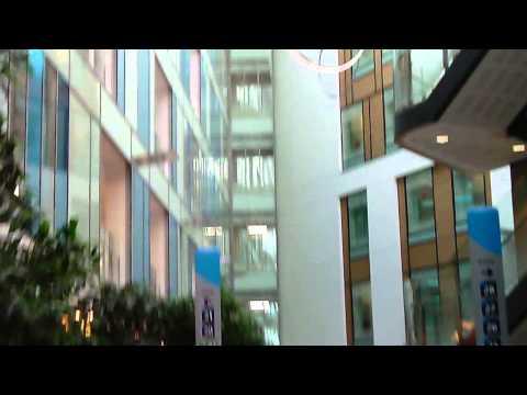 Walk Through Southmead Hospital Atrium