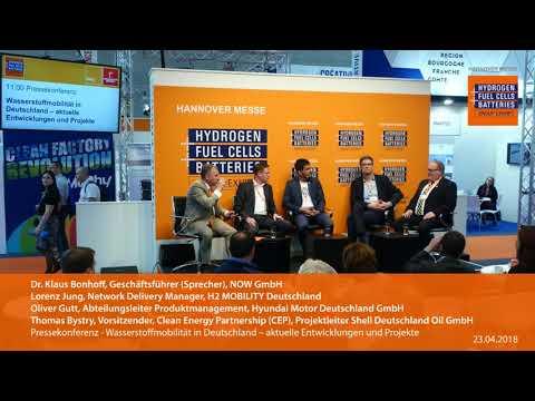 Pressekonferenz: Wasserstoffmobilität in Deutschland – aktuelle Entwicklungen und Projekte