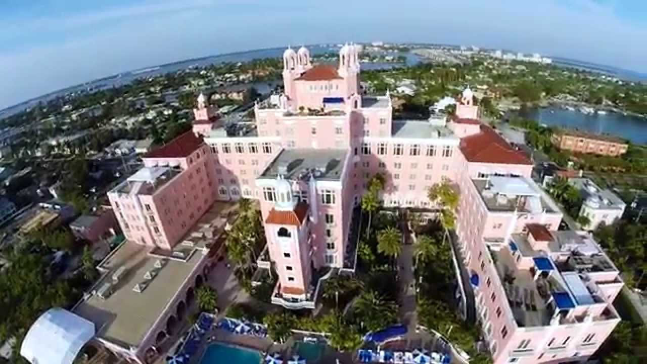 Drone 4 Us Don Cesar Hotel St Petersburg Beach By Michael Basedow Aerial Photography You