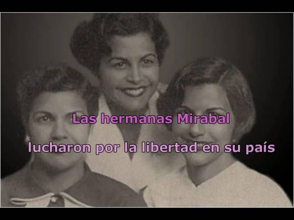 Hermanas Mirabal 25 De Noviembre