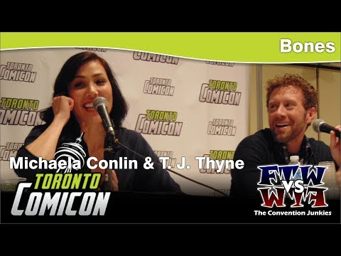 Bones  T. J. Thyne & Michaela Conlin  Toronto ComiCon  Full Panel