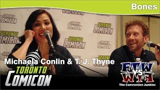 Bones - T. J. Thyne & Michaela Conlin - Toronto ComiCon - Full Panel