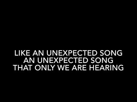 Unexpected Song -  from song & Dance karaoke with lyric