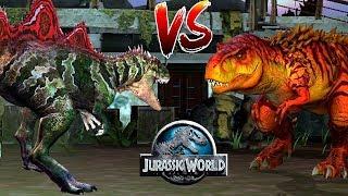 Конкавенатор против Тираннозавра Jurassic World: Игра