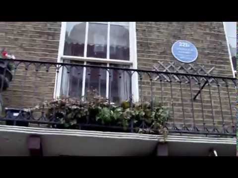 Sherlock Holmes House at Baker Street 221B,London with Daniel Dimitrov