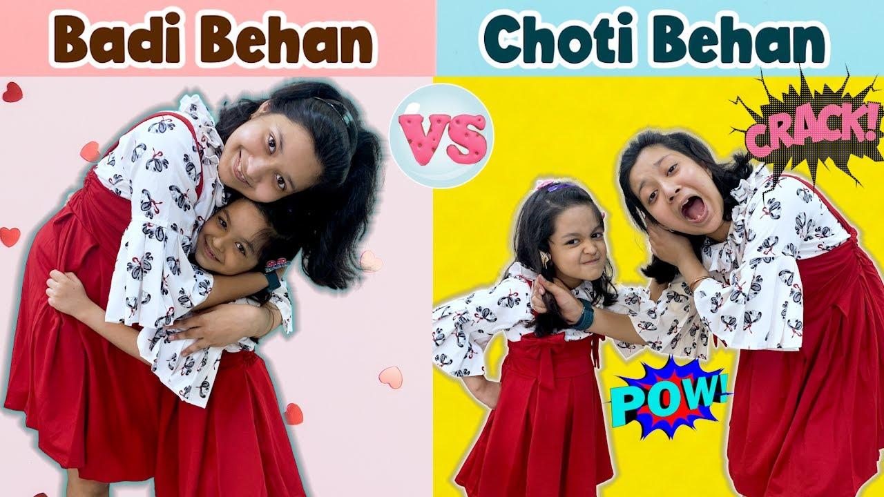 Badi Behan vs Choti Behan | Cute Sisters
