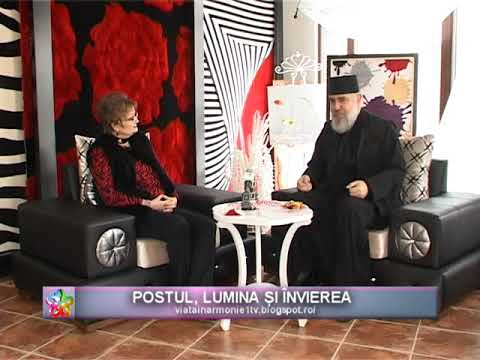 VIATA IN ARMONIE - Preot ADRIAN SINGUROV - POSTUL, LUMINA SI INVIEREA_10.03.2018