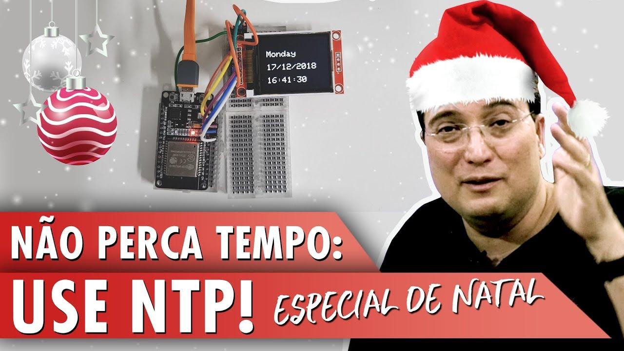 Não perca tempo: use NTP! - Fernando K Tecnologia