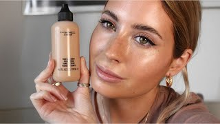 MAC Face And Body Foundation Review | Barely There Makeup