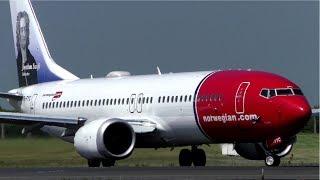 Norwegian Boeing 737 MAX 8 Departure at Dublin
