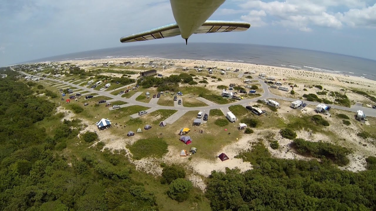Ateague Island Md Flyover Of Campsites And Campground Beach Photo Horseneck State Reservation