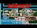 TOP 5 Biggest Casino Bets | Growtopia