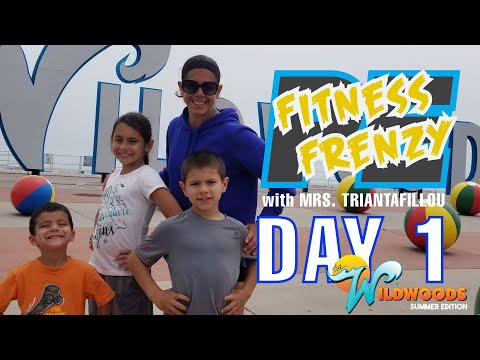 PE FITNESS FRENZY WORKSOUT WILDWOOD!!! - DAY 1