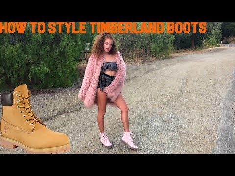 how to style timberland boots for fall - mahogany lox lookbook