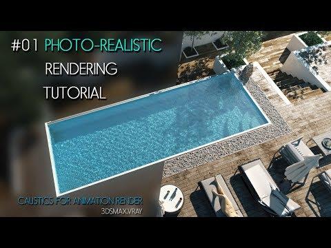 #01 3D RENDERING Tutorial for Caustics