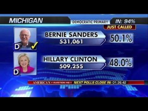 Fox News projects Bernie Sanders wins Michigan primary