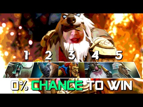 WHAT IS THE CHANCE TO WIN THIS? (SingSing Dota 2 Highlights #1862)