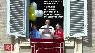 El Papa en el Ángelus 3-2-19: «El mundo necesita personas que siguen el empuje del Espíritu Santo»