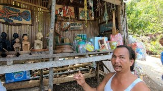We Meet a Witch Doctor Artist at Lugnasan Falls, Siquijior
