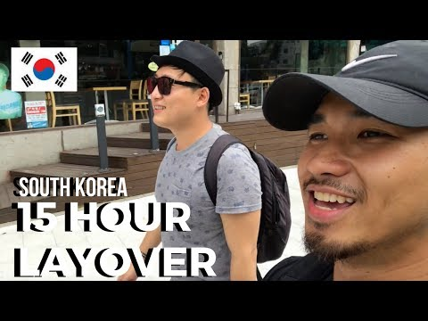Travel Guide/VLOG: 15 HOUR LAYOVER IN KOREA!