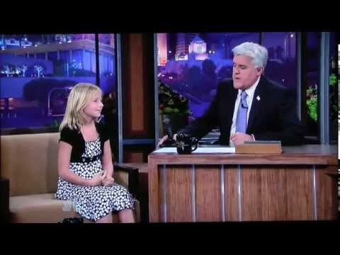 Jackie Evancho On The Tonight Show with Jay Leno Sep 23, 2010