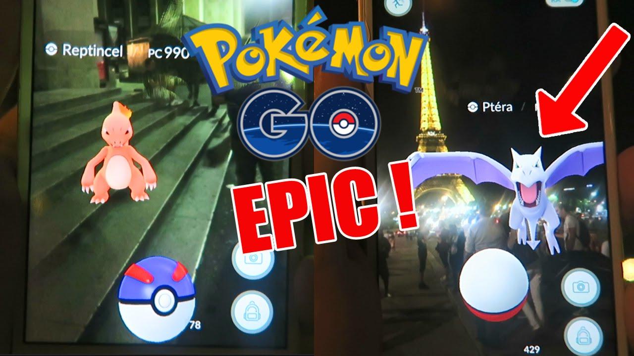 pokemon go epic a la tour eiffel pokemon go fr 44