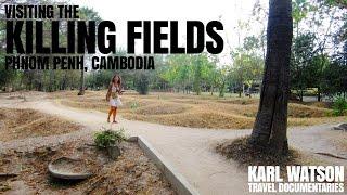 Visiting the Killing Fields, Phnom Penh, Cambodia