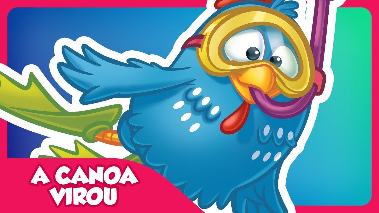 A Canoa Virou Clipe Música Oficial Galinha Pintadinha Dvd 2 Youtube