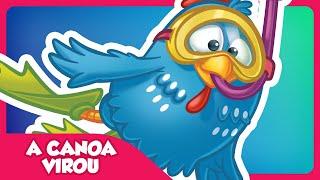 A Canoa Virou - Clipe Música Oficial - Galinha Pintadinha DVD 2